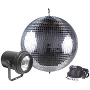 Motorized Disco Ball 20""