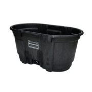 100 Gallon tub with drain