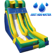 18' Green wet Slide