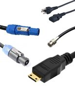 Various Cables and Adapters