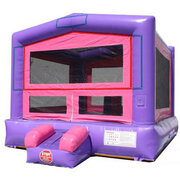 Purple Module bounce house 1.0 HP blower
