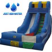 18' Blue Wet Slide