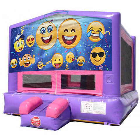 Purple emoji bouncer
