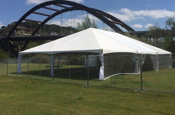 30' X 30' (900 square feet) Frame Tent (Walls can be added, but are not included)