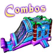 Combo Bounce House With Slide