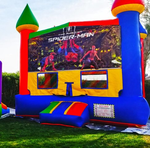 Bounce House - Spider Man