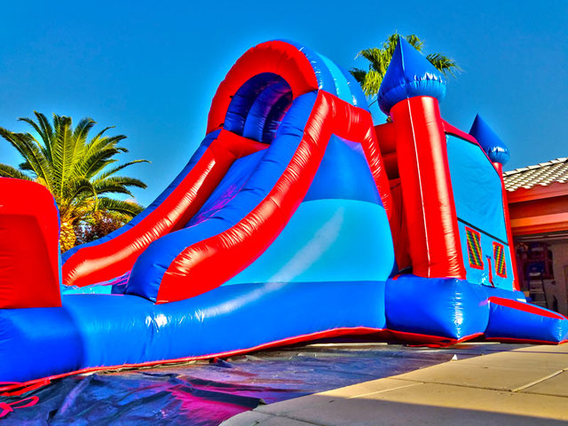 Combo Water Slide Bouncer