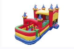 Obstacle Course Bounce House Combo