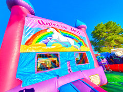 Princess Bounce House W/ Unicorn