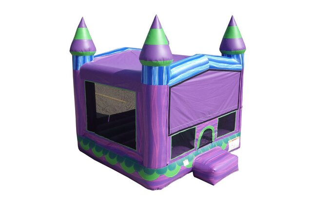 Purple Sunset Bounce House