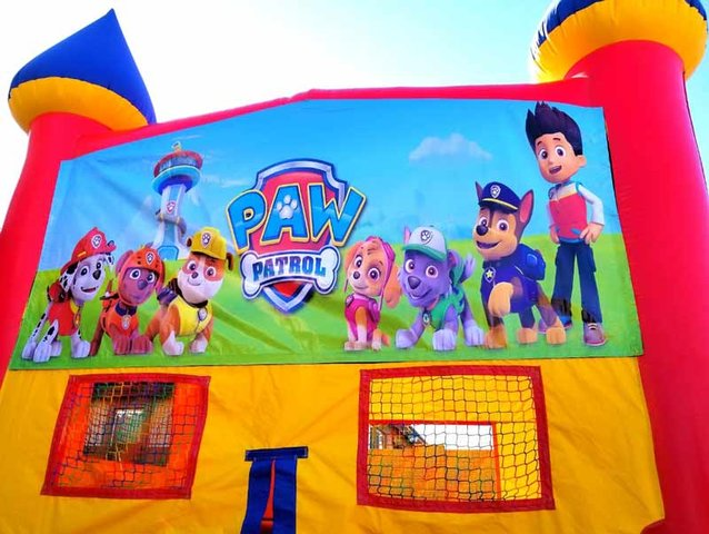 Bounce House - Paw Patrol