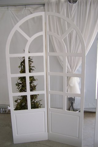 Decoration - White Window Backdrops