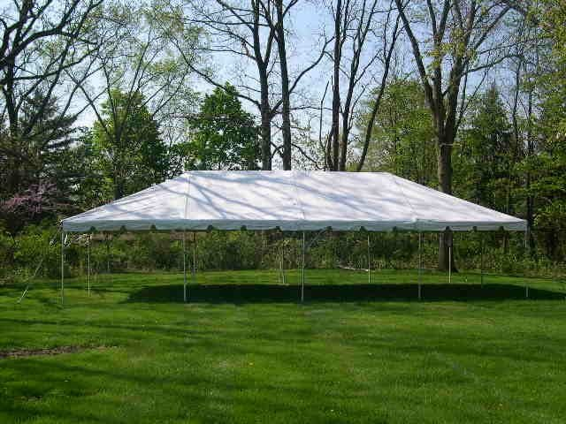 20' x 40' Frame Tent Seats 64-80