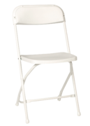 Polyfold White Chair