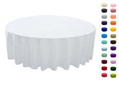 132in Round Tablecloth  Fits our 72in Round Tables too the floor