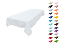 60x120 Polyester Tablecloth  Fits our 6ft & 8ft Long Tables half way too the floor
