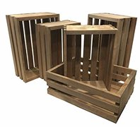 Wood Crates For Decoration