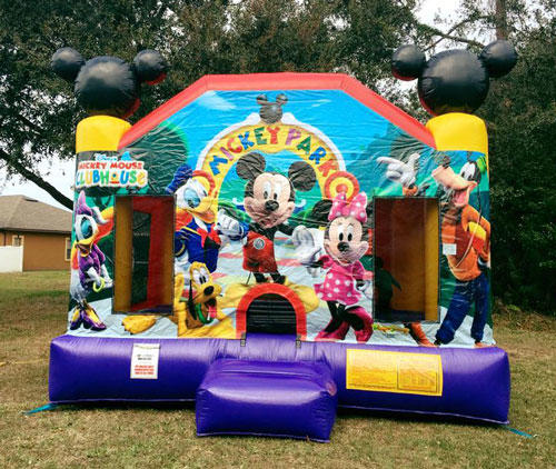 Orlando Mickey Mouse Bouncer Rental
