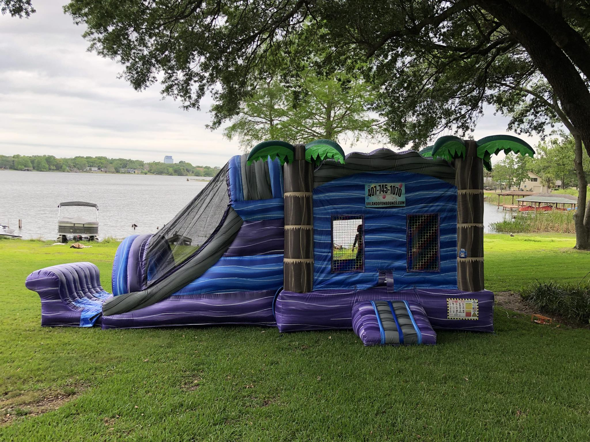 Bounce House Slide Combo Rentals Orlando