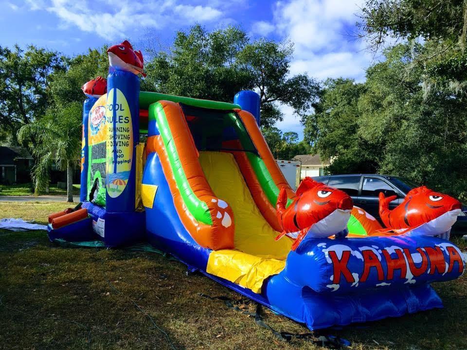 Orlando Wet Combo Slides