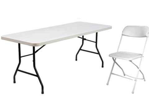 Table and Chair Rentals Orlando Florida