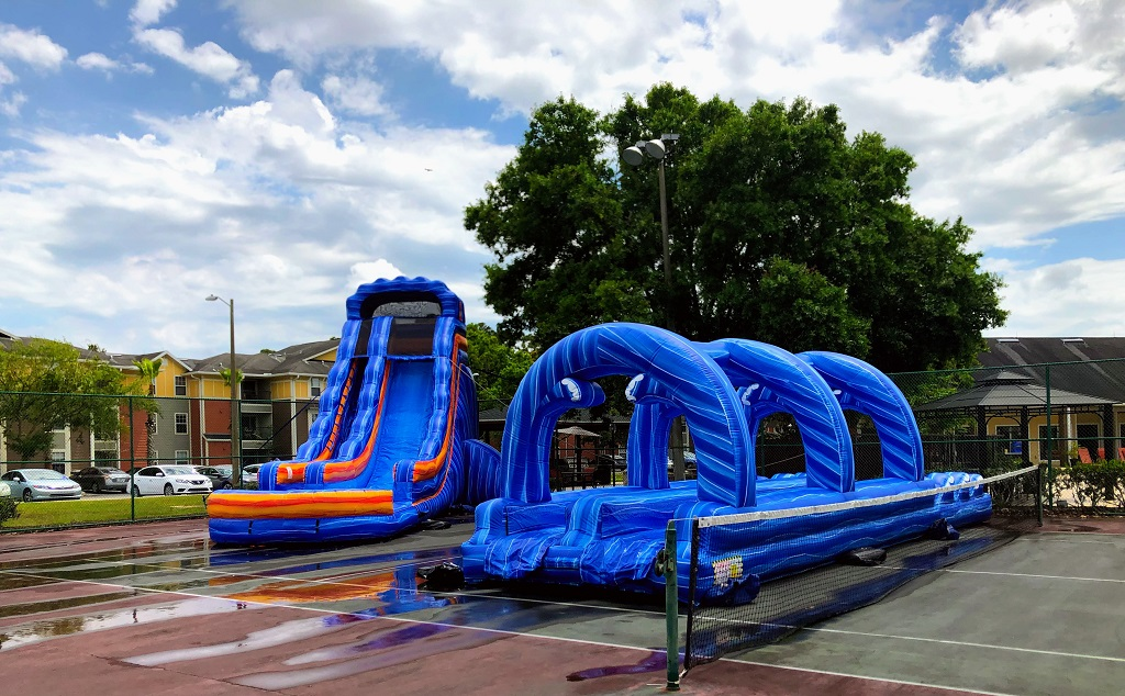 Image of: Water Slide Rentals Orlando Fl