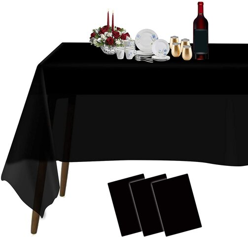 Rectangular Table Disposable Tablecloth