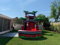 20ft Red Crush Water Slide