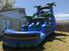 20ft Blue Tropical Paradise Slide