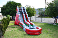 22ft Red Crush Waterslide