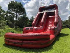 20ft Marble Lava Waterslide