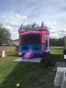 Pink Castle Modular Bounce House