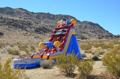 22ft Space Rush Waterslide