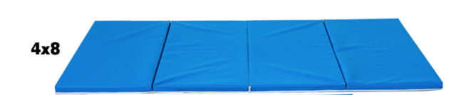 Safety Mat 8 feet x 4 feet used from exiting Amusement Inflatable Rides
