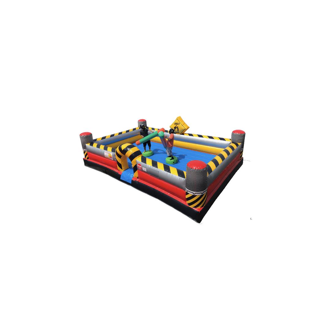High Voltage Pedestal Joust interactive game rental