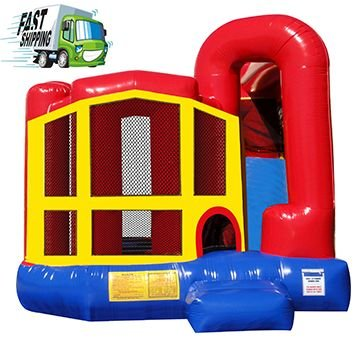 Classic Bounce House with Slide (Medium)