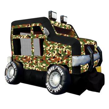Military Truck Bounce House Rental
