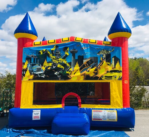 Robo Car Bounce House Castle Package