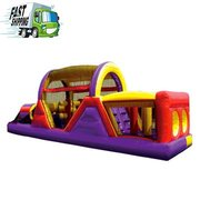 """PTI Amusements 40 Foot Obstacle Course was a huge hit at our Event"" Ideal for 6 to 14 year olds"