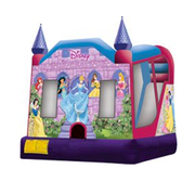 Disney Princess Bounce House with Slide