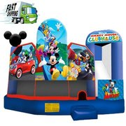Mickeys Clubhouse Bounce House with Slide