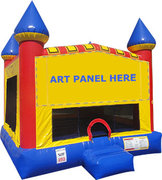 Classic Carnival Bounce House Rental (Large Size)