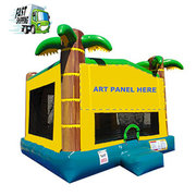 Tropical  Bounce House Large Size