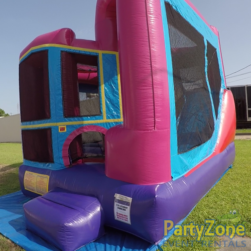 Dream Modular 4n1 Combo Bounce House Rental Front Right View
