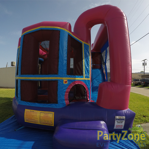 Add a Theme Dream Modular 4n1 Combo Bounce House Rental Front View