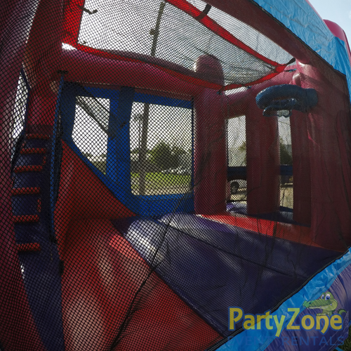 Add a Theme Dream Modular 4n1 Combo Bounce House Rental Inside View