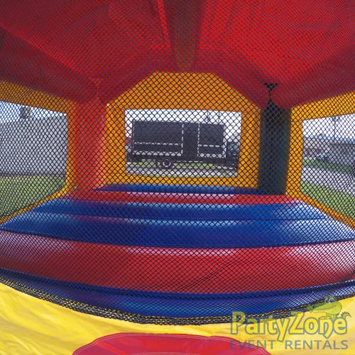 Fun Castle Bounce House Rental Inside View