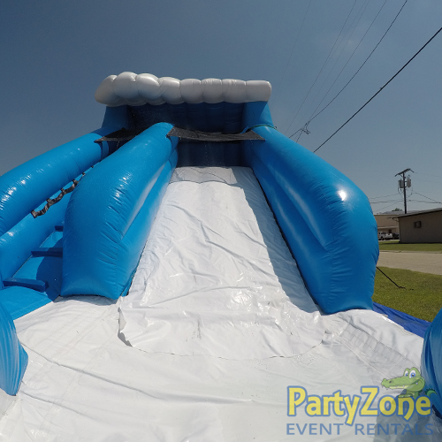 13ft Lil Surf Water Slide Front Landing View