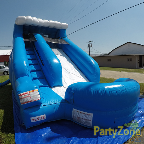 13ft Lil Surf Water Slide Front Left View