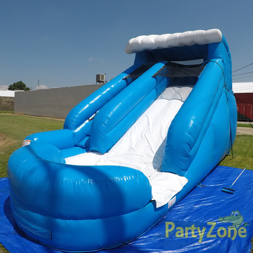 13ft Lil Surf Water Slide Front Right View